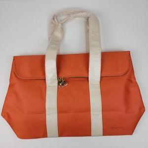 Philip Stein Bright Orange Tote Bag